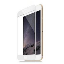 PELLICOLA VETRO IPHONE 7 e 8 BIANCO TEMPERATO 3D PROTEZIONE COMPLETA INTEGRALE