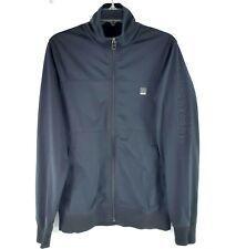 Bench Urbanwear BMea Mens Medium Black Handwarmer Pocket Full Zip Jacket