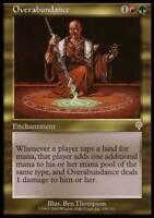 1x Overabundance MTG Invasion NM Magic Regular
