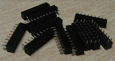 "12 x 18 way ( 2x9 way) 0.1"" 2.54mm  PCB sockets Samtec SLW-109-01-S-D"