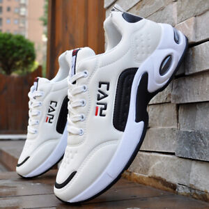 Mens Sports Shoes Womens Trainers Casual Gym Fitness Lace Up Running Sneakers UK