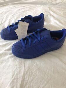 Adidas Superstar Supercolour Pharrell Williams Blue Size 5