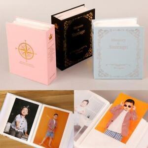 6 Inch 100 Pockets Photo Album Picture Storage Scrapbooking Case Frame for Kids