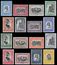 Portugal Scott 437-452 (1928) Mint H F-VF Complete Set, CV $99.00