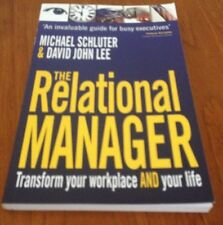 MICHAEL SCHLUTER, THE RELATIONAL MANAGER. VGC