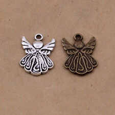Tibetan silver charm pendant little angel 10-200pcs 21x15mm 1.2g