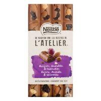 Nestle L'Atelier Raisin Almond Hazelnut Original Chocolate Bar Nestlé 195G