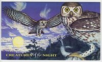 1997 STAMP PACK 'CREATURES OF THE NIGHT' 6 x 45c + MINI SHEET TOTAL 12 x 45c MNH