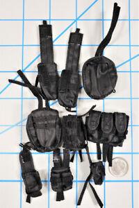 Mini times navy seal team 2 halo jumper 9 pouch lot 1/6 toys dragon alert Joe