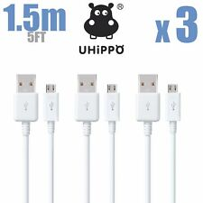 3x 5FT OEM Rapid Charge Micro USB Cable Fast Charging Cord For Samsung Android