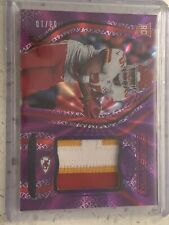 2020 Panini Certified Football Clyde Edwards-Helaire Patch Relic Rookie /10 FOTL