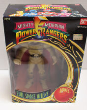 "NEW MIB Mighty Morphin Power Rangers ""Bones"" Evil Space Aliens by Ban Dai Age 4+"