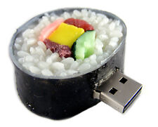 4GB USB SUSHI ROLL NOVELTY USB 2.0 FLASH DRIVE MEMORY STICK WINDOWS MAC LINUX