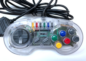 SNES High Frequency Mad Catz Turbo Controller Gamepad Tested + Working