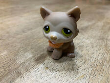 Littlest Pet Shop TAN SIBERIAN HUSKY #358 Authentic Lps
