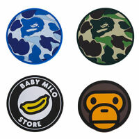 FASHION NEW 1 SET A BATHING APE BAPE BABY MILO CORK CAMO COASTER WITH PACKAGE