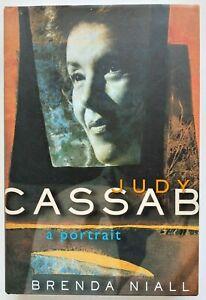 2005 1st Judy Cassab A Portrait, SIGNED Brenda Niall & Judy Cassab FREE EXPRESS