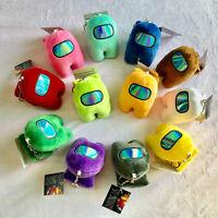 10 cm Among Us Plush Soft Stuffed Toy Doll Game Figure Plushie Kids Xmaxs Gifts