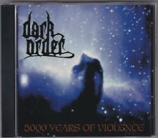 Dark Order - 5000 Years Of Violence - CD (ODCD0202 1997 Sector 001)
