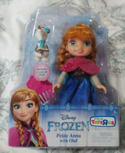 Disney Frozen - Petite Anna with Olaf, New Toys R Us Exclusive