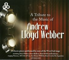 A TRIBUTE TO THE MUSIC OF ANDREW LLOYD WEBBER - 3 CD BOX SET