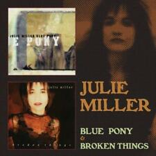 JULIE MILLER - BLUE PONY & BROKEN THINGS 2 CDs 2 Albums (New & Sealed) Country