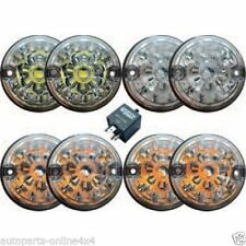 LAND ROVER DEFENDER Wipac chiara Luce LED Lampada Upgrade Kit-re1191