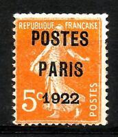 France 1920 PRÉOBLITÉRÉS n° 30  neuf ★★ luxe / MNH
