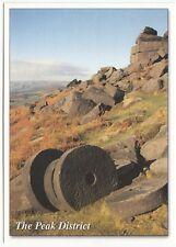 Derbyshire; Peak District, Millstones On Stanage Edge PPC, Unused, By Millstone