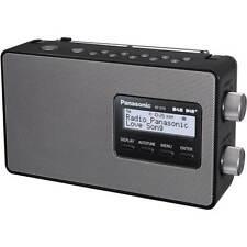 PANASONIC RF-D10EB-K Portable DAB+ Radio LCD Display Mains and Battery Black