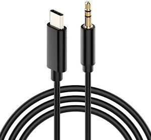 USB Type C zu 3.5 mm Kabel Klinkenbuchse Klinkenstecker Audio AUX für Samsung