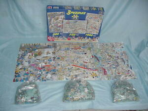 Jan van Haasteren Some Like Hot United Europe Assembly Line 1000 750 500 Puzzle