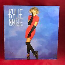 """Kylie Minogue tiene que ser ciertas 1988 Reino Unido 12"""" Single Vinilo Excelente Estado"""