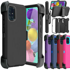 For Samsung Galaxy A51 Shockproof Case Cover Otterbox With Belt Clip Kickstand