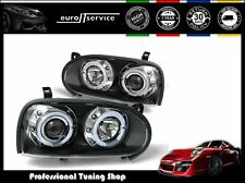 FARI ANTERIORI HEADLIGHTS LPVW10 VW GOLF III 1991-1994 1995 1996 1997 ANGEL EYES