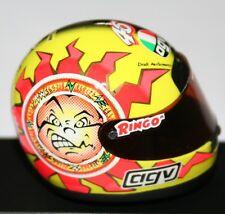 AGV Helmet V.Rossi GP 125 1997 397970046 1/8 Minichamps