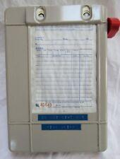 "Vintage Metal STAR Business Forms Receipt Store Cash Register Machine 9x6.25x3"""