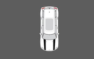 Fits Mini Clubman (F54) 2016- Bonnet Stripes / Stripe Decal Set. Non OE. Cooper.