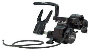 New HHA Virtus Full Capture Fall Away Rest Black Micro Adjust Right Hand