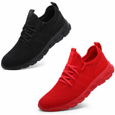 Men's Tennis Sneakers Running Workout Slip Resistant Sports Fashion Gym Shoes