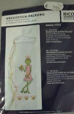 Kreuzstich Wandbehang, Frosch-Prinzessin, Metallbügel,Rico Komplettpackung #660