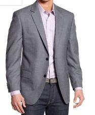 Michael Kors Blue & Brown Neat 2 Button Sportcoat Notched Lapel Blazer 36R #59