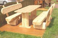 Sitzmöbel.Terassenmöbel.Holzmöbel.Rustikale Gartenmöbel.Gartenmöbel.