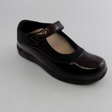 Drew Shoes Size 7.5 W Women's Orthopedic Brown Croc Rose Mary Jane 14375-6P