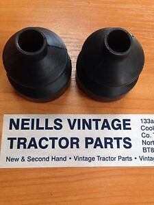 David Brown Gear Stick Rubber A Pair X2 Tractor Gaiter Boot