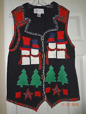Garland Knitwear Ladies Holiday Christmas Vest - Size Large
