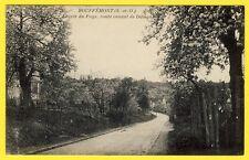 cpa Vue RARE 95 - BOUFFEMONT (Val d'Oise) Entrée du PAYS Route venant de DOMONT