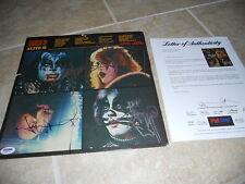 Kiss Alive 2 Band Signed Autographed LP Album PSA Certified All 4 Original