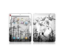 iPAD Skin: Cable Cranes by Nanami Cowdroy GelaSkins NEW