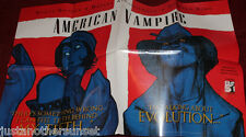 American Vampire Poster Comic Con Promo Stephen King 22x33 Red White Blue New
